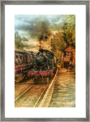 Severn Valley Railway Framed Print by J A Evans