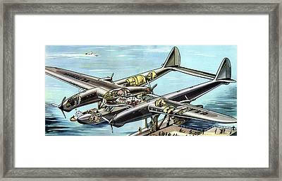 Seversky Super Clipper Framed Print by Cci Archives