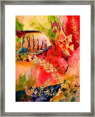 Severums And Angels  Framed Print