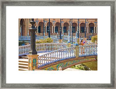 Sevilla In Spain Framed Print by Francesco Riccardo  Iacomino