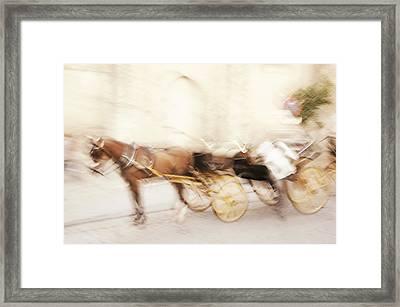 Seville Impression Framed Print by Jenny Rainbow