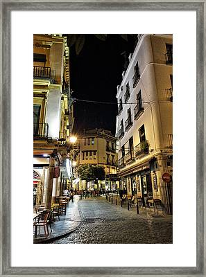 Seville Nights Framed Print