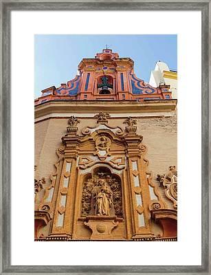 Seville, Spain. Capilla De San Jose Framed Print