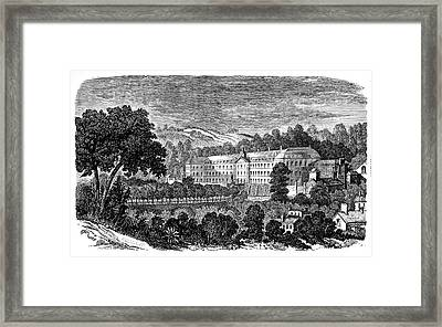 Sevres Porcelain Factory Framed Print by Science Photo Library