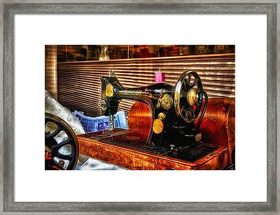 Sew What Framed Print by Tricia Marchlik