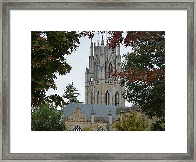 Sewanee Chapel Framed Print by Ron Hayes