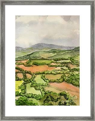 Sewanee Overlook Framed Print