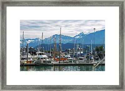 Seward Alaska Framed Print by Aimee L Maher Photography and Art Visit ALMGallerydotcom