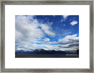 Seward Highway Framed Print