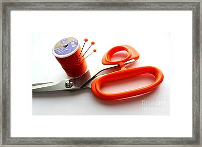 Sewing Essentials Framed Print