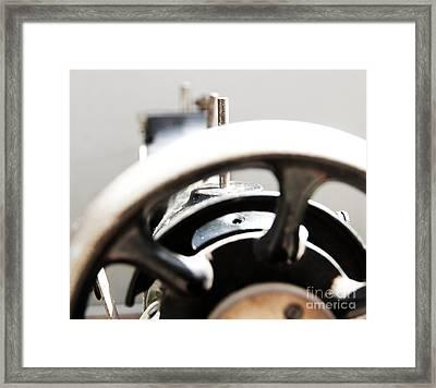 Sewing Machine 3 Framed Print