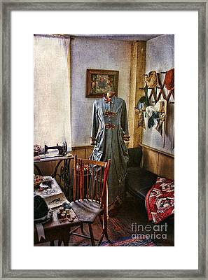 Sewing Room 1 Framed Print