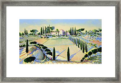 Sewing The Seed Of Love Framed Print by Andrew Hewkin
