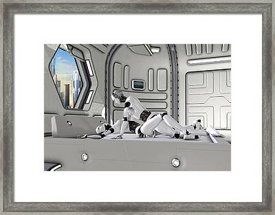 Sex Machine 1 Framed Print by Frederico Borges