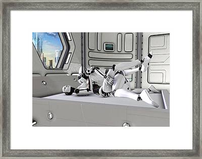 Sex Machine 2 Framed Print by Frederico Borges