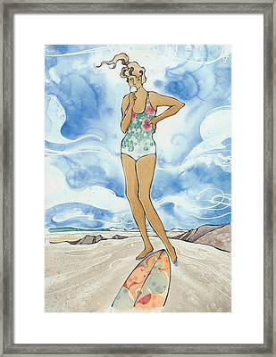 Sex Wax Framed Print by Harry Holiday