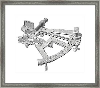 Sextant Framed Print by Royal Astronomical Society