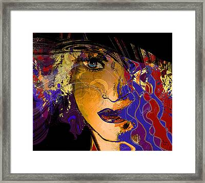 Sexy And Mysterious Framed Print