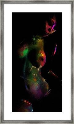 Sexy Girl Framed Print by Steve K