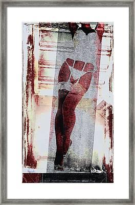 Sexy Legs Framed Print by David Ridley