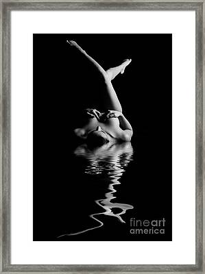 Sexy Reflection Framed Print by Jt PhotoDesign