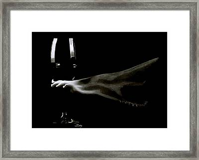 Sexy Vine Framed Print by Saki Art