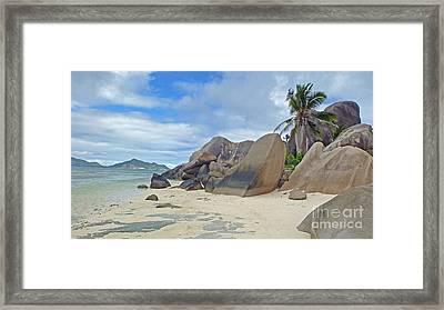 Seychells Framed Print by Jan Wolf