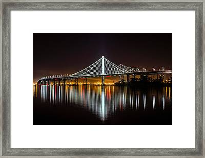Sf Bay Bridge Framed Print