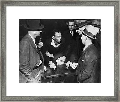 Sf Labor Leader Harry Bridges Framed Print by Underwood Archives