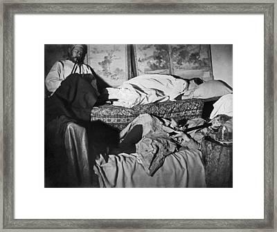 Sf Opium Den Framed Print by Underwood Archives