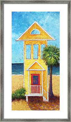 Framed Print featuring the painting SGI by Pam Talley
