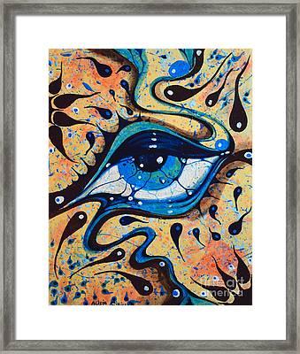 Sguardo 01 Framed Print