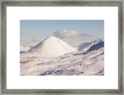Sgurr Mhairi Near The Cuillin Ridge Framed Print by Ashley Cooper