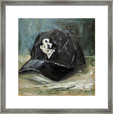 Framed Print featuring the painting Sgv Baseball by Lindsay Frost