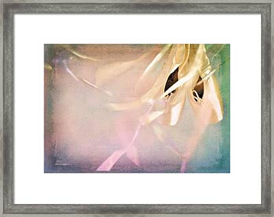 Shabby Chic Ballet I Framed Print by Theresa Tahara