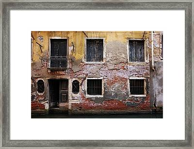 Shabby Chic Decor Framed Print