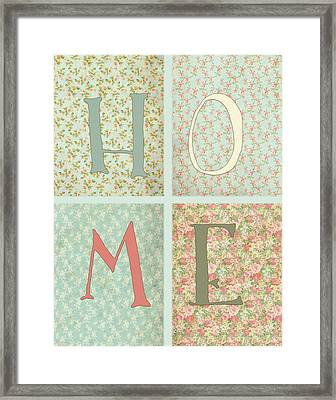 Shabby Chic Home Framed Print by Tara Moss