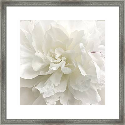 Shabby Chic Wedding Framed Print