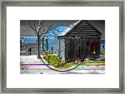 Shack Attack Framed Print by Kent Roberts