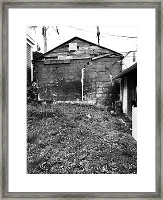 Shack Framed Print by H James Hoff