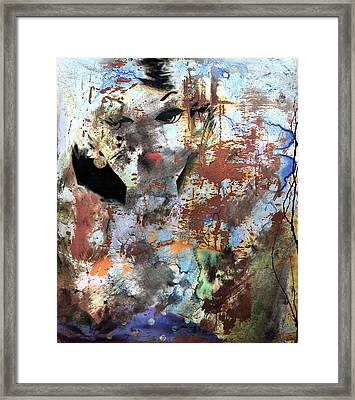 Shackles Of A Spouse  Framed Print