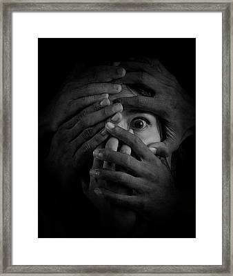 Shackles Of Fear Framed Print