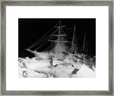Shackleton's Ship, Endurance Framed Print by Underwood Archives