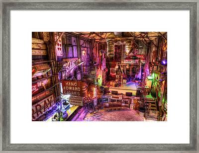 Shackup Inn Stage Framed Print