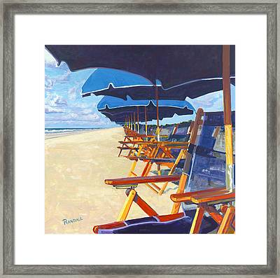 Shade Framed Print
