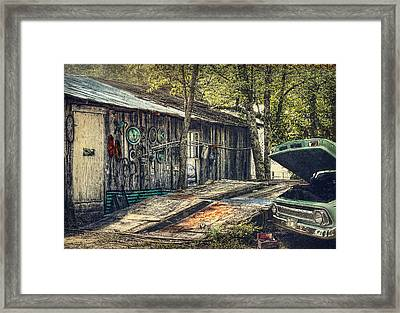Shade Tree Mechanic Framed Print