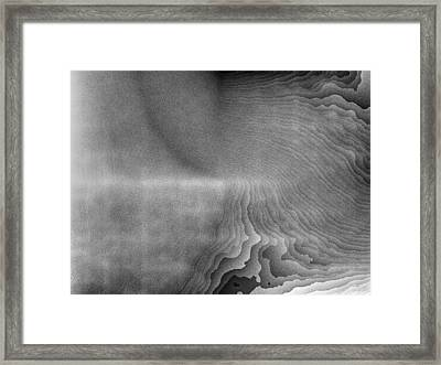 Shaded Framed Print by Jeff Iverson