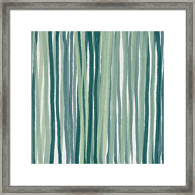 Shades Of Blue Framed Print by Aged Pixel