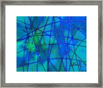 Shades Of Blue   Framed Print by Ann Powell