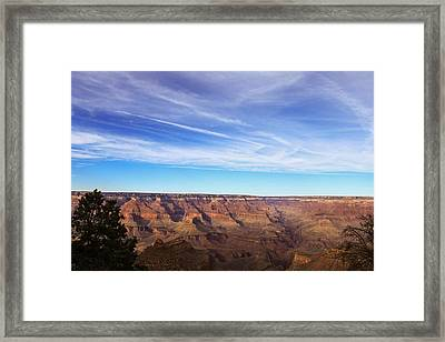 Shades Of Blue Framed Print by Richie Stewart